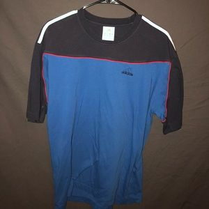 2004 German adidas blue short sleeve t shirt